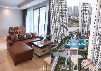 Diamond Island apartment for rent 2 bedrooms Maldives tower view river and Landmark 81