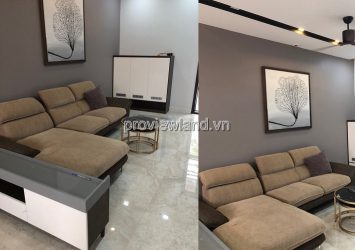 Palm Residence townhouse for rent in District 2 includes 3 floors 5x17m fully furnished