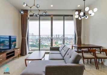 Apartment in The Nassim low floor B block 2 bedroom fully furnished river view for sale