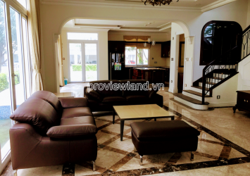 Villa Khang Dien for sale in District 9 includes 3 floors new furrniture area 350m2
