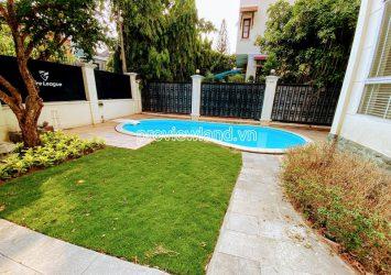 Villa for rent in Thao Dien D2 Nguyen Van Huong 3 floors swimming pool area 380m2