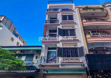 District 1 Townhouse for sale front of Nguyen Van Trang 4 floors area of 299m2