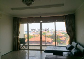 Rent apartment 4 bedroom with fully furnished City view in Hoang Anh river view court C