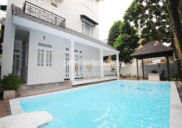 Need for rent Thao Dien Villa with large garden swimming pool campus of 510m2