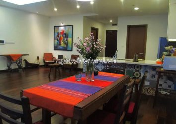 Thao Dien Pearl apartment for rent with 2 bedrooms fully furnished on high floor of Tower B