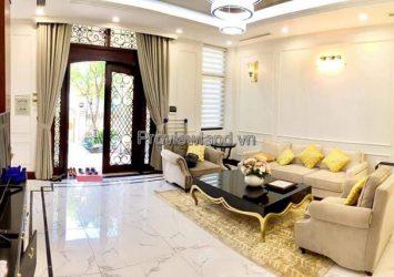 Villa Vinhomes Golden River for rent with modern design includes 4 bedrooms