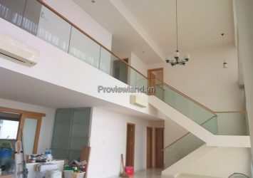 Duplex The Vista District 2 for rent high floor with river view at T3 tower