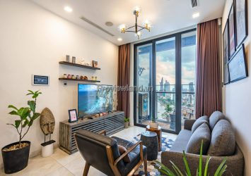 Vinhomes Golden River for rent 1 bedroom apartment in A3 tower high-end furniture
