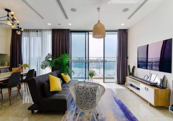 Vinhomes Golden River apartment for rent with 3 bedrooms in A2 Tower fully furnished