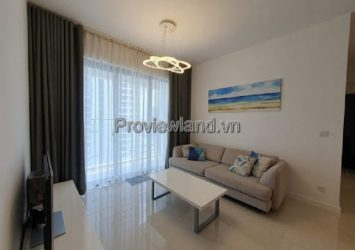 Estella Heights apartment for rent in District 2 with 2 bedrooms high floor pool view full furniture T1 tower