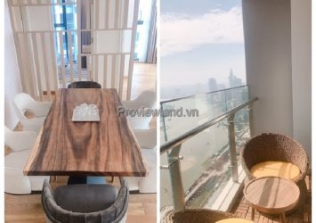 Vinhomes Golden River apartment for rent with 3 bedrooms in Luxury 6 tower, high floor corner apartment