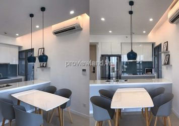 Apartment for rent with middle floor 2 bedrooms luxurious furniture in Palm Heights T3 tower