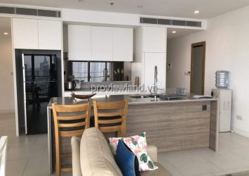 City Garden apartment with 2 bedrooms airy view fully furnished for rent