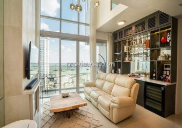 Duplex Estella Heights apartment for rent T3 tower high floor new furniture 3 bedrooms