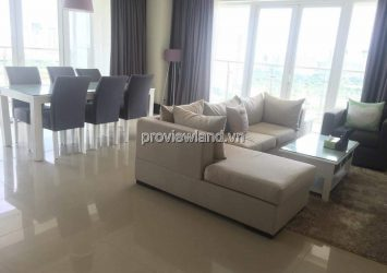 Apartment for rent in Diamond Island 3 bedrooms fully furnished on the middle floor of Brilliant tower