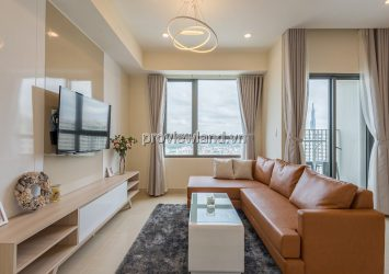 Masteri Thao Dien apartment for rent comfortable 2 bedroom in T3 tower nice view