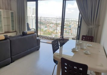 Masteri Thao Dien apartment with corner 3 bedrooms middle floor T1 tower fully furnished for rent