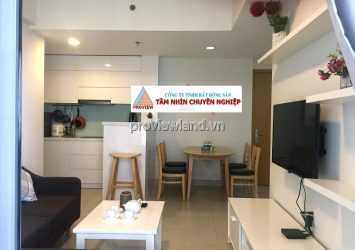 Apartment in District 2 for rent with 2 bedrooms nice modern furniture in Masteri Thao Dien project