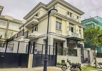 Sala Saroma Dai Quang Minh villa for sale with land area 331m2 1 basement 3 floors