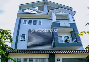Townhouse for sale in Tran Nao Binh An District 2 with area 500m2 luxury furniture