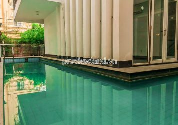 Thao Dien villa for rent Nguyen Van Huong 3 floors 3 bedrooms 220m2 with swimming pool