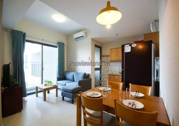 Masteri Thao Dien District 2 apartment for rent 2 bedrooms on high floor T4 tower