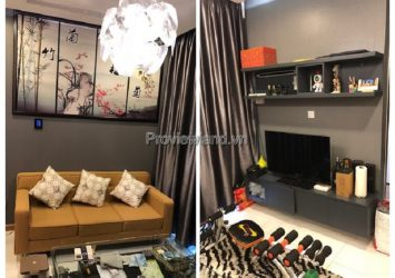 Vinhomes Central Park sells 2-bedroom apartment low floor Tower P6 full furnished