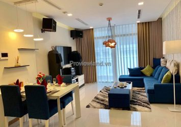 Vinhomes Central Park sells 3-bedroom apartment high floor corner apartment at P5 tower
