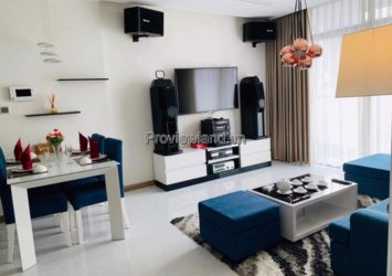 Vinhomes Central Park apartment for rent 3 bedrooms high floor corner apartment in P5 tower