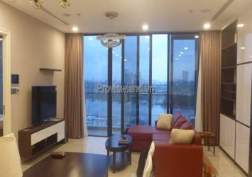Vinhomes Bason apartment for rent with 3 bedrooms full river view of A1 tower
