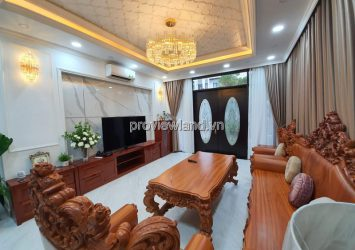 Lucasta Khang Dien villa for sale with area 230m2 3 floors full furnished