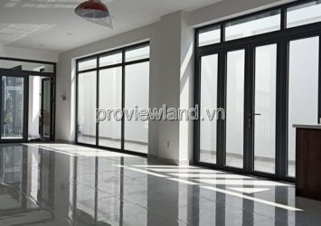 Villa for rent in District 2 next to Lakeview with area of 8x24m 3Brs in new house