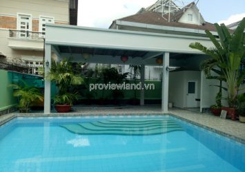 Thao Dien villa for rent with 3 floors garden and pool, 5BRs, beautiful as the picture