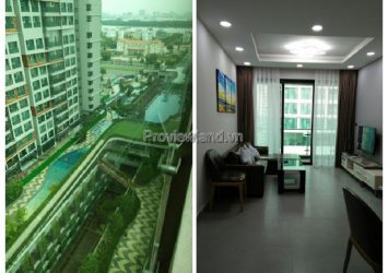 Feliz en Vista apartment for rent on middle floor of Cruz tower with 2 bedrooms fully furnished