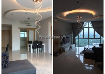 Apartment for rent in District 2 with 3 bedrooms, luxurious interior of The Vista project