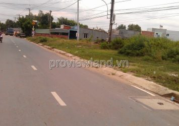 Land for sale in District 9 front of Vo Van Hat street area 1162sqm pink book