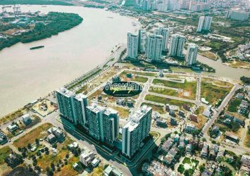 Land for sale in Mysteri Villa Thanh My Loi D2 to build riverside villas with area 108m2