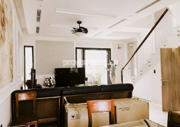 Palm Residence Townhouse D2 for rent 3 floors 3 bedrooms with area 189m2