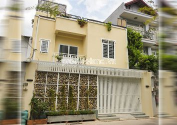 Townhouse for rent in Thao Dien Do Quang street 3 floors with area 7.5x15m