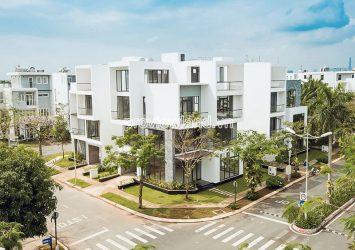 Villa Shophouse at Villa Park D9 for rent to Office architecture 4 floors area 480m2