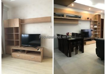 Apartment Hung Vuong Plaza 3 bedrooms for rent with full furnished