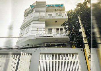 Thao Dien Townhouse for sale in District 2 Do Quang frontage 3 floors with garage