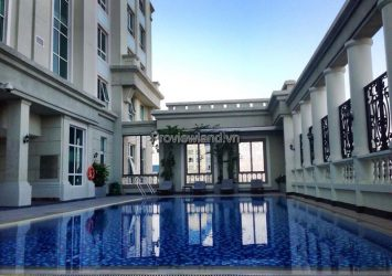 The Manor apartment for rent 3 bedrooms with Landmark 81 view fully furnished