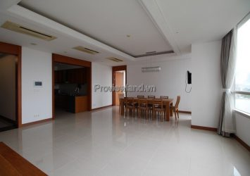 Xi Riverview Palace apartment for rent 3 bedroom low floor
