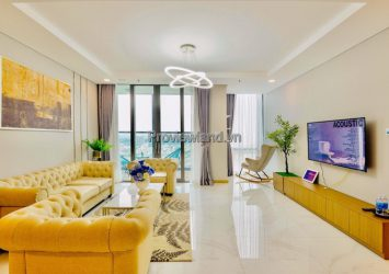 Vinhomes Central Park apartment for rent 3 bedrooms, fully furnished, high floor in Landmark81