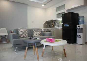 Vinhomes Central Park apartment for rent 1 bedroom high floor at Landmark81