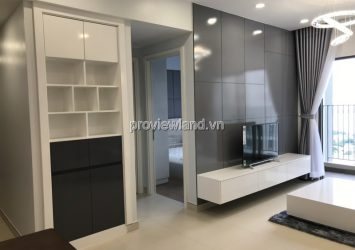 Masteri Thao Dien T5 tower middle floor 2 bedrooms, nice design furniture for rent