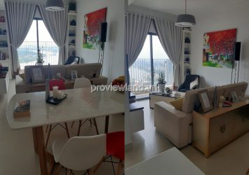 Masteri Thao Dien sells apartment 3 bedroom with river view of T2 tower full furrniture