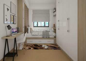 Apartment masteri Thao Dien for rent with 2 bedrooms full of beautiful furniture
