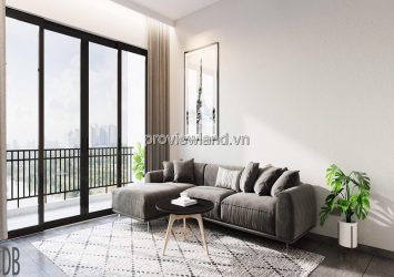 Palm Heights apartment 3 bedroom on the middle floor of T1 tower with river view for sale